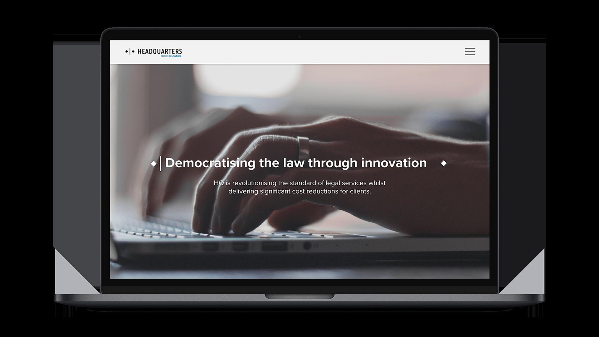 Lawbite HQ Website