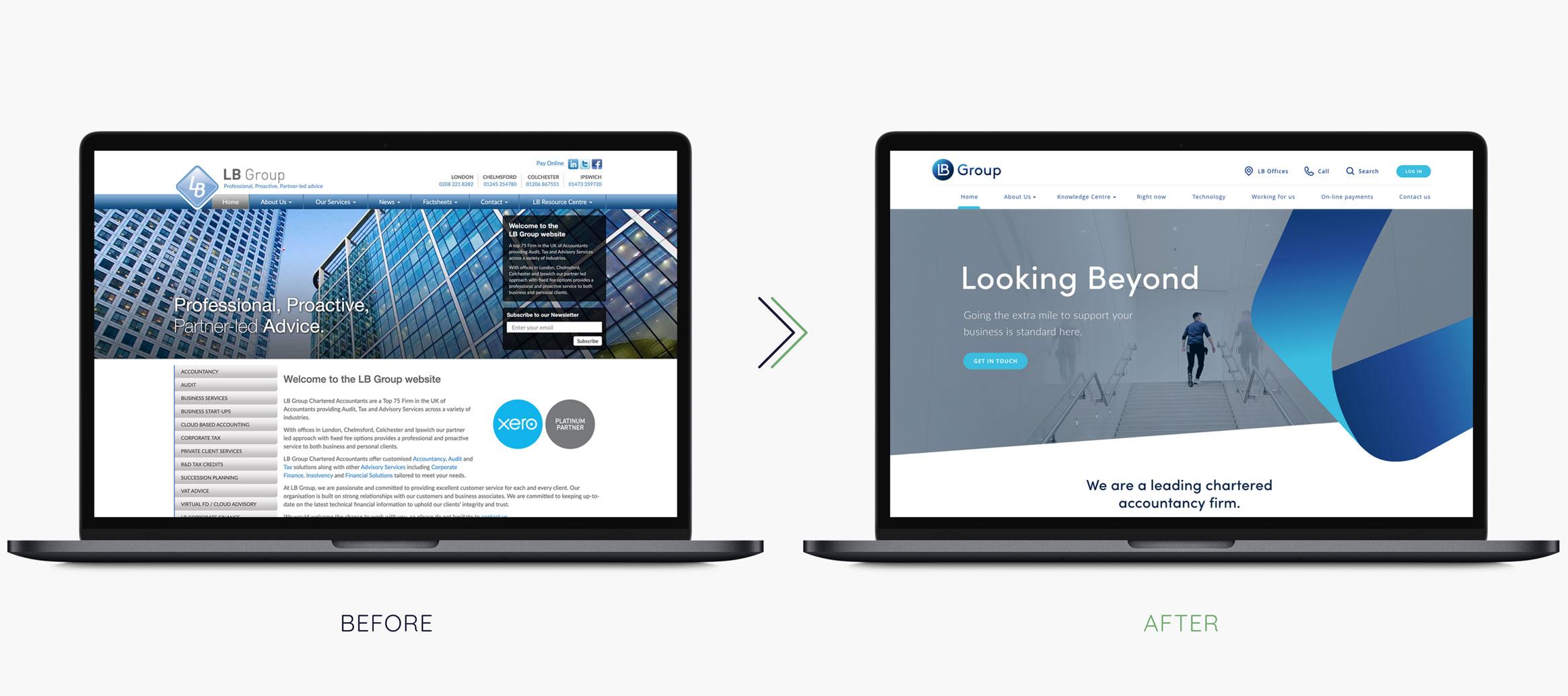 LB Group Website
